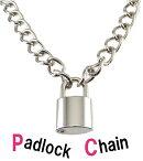 南京錠ネックレスパドロックロックファッションパンクファッション/メール便可