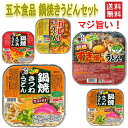 にぎわい広場 五木食品 鍋焼きうどんアソートセット 18食セット ……
