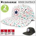 帽子:MINIMSNAPBACKフラットバイザーキャップ
