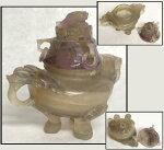 鑑賞石水石赤石一点もの置物年代保証観賞用稀少奇石天然石自然石美石原石オブジェ威龍彩雲