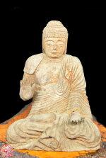 【送料無料】古美術釈迦様像Buddha木彫り置物釈迦如来古仏像年代保証入手困難老佛像骨董古玩旧蔵時代物一点物稀少古賞物古美術唐物古玩仏像開運祈願金運祈願威龍彩雲通販