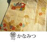 佐賀錦袋帯正絹リサイクルマルチ色金糸フォーマル礼装用