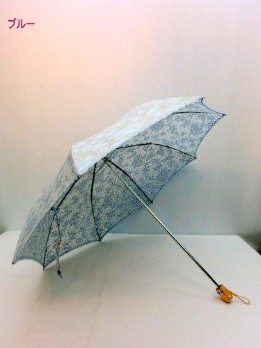 晴雨兼用・折畳傘−婦人UVケアカットジャガードマイナスイオン裏プリント日本製晴雨兼用折畳傘