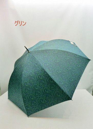 雨傘・長傘−紳士日本製綾織ジャガードペイズリー柄ジャンプ雨傘