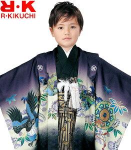 七五三 着物 男の子 袴 セット RK リョウコキクチ ブランド 5歳羽織袴 フルセット 3 着付けに必要な物は全て揃った着付け完璧フルセット 2020年新作 販売 購入