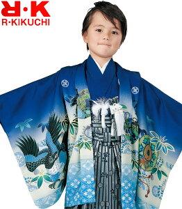 七五三 着物 男の子 袴 セット RK リョウコキクチ ブランド 5歳羽織袴 フルセット 4 着付けに必要な物は全て揃った着付け完璧フルセット 2020年新作 販売 購入