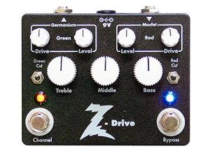 Dr.Z Z-Drive ハイクオリティメーカー、ドクターZが打ち出すまさにアンプなオーバードライブ