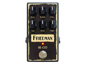 Friedman BE-OD ハイクオリティなアンプBE-100メーカー自身による噂のオーバードライブ。