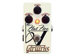 GtrWrks ♭Ⅴ Flat Five ジャズ・フュージョン向きTS系スムースオーバードライブ