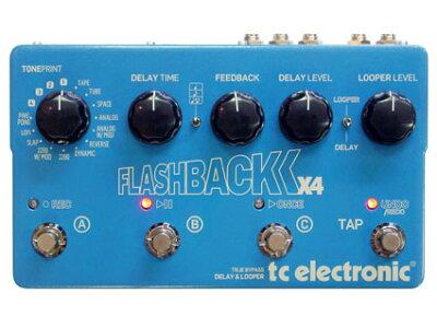 ディレイ/ルーパー TC Electronic Flashback X4 [送料無料!]【smtb-TK】