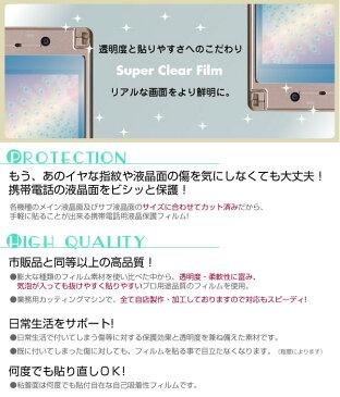 au AQUOS PHONE SERIE mini SHL24 専用液晶保護フィルム 3台分セット※各種専用形状にカット済み |81| |8a| \e 10P18Jun16