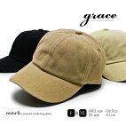 メンズキャップゴルフ帽子ゴルフキャップゴルフ帽子大きいサイズフリーサイズキャンバス素材ダック素材綿コットンgraceグレースMAJORCAP大きいXLサイズ調節