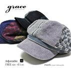 メンズキャスケットゴルフ帽子メンズ帽子ゴルフ帽子大きいサイズ春秋冬サイズ調節クレイジーパターン切替えgraceグレースDEERCASQUETTEXL