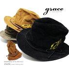 メンズハットたためる帽子ゴルフメンズ帽子ゴルフ帽子大きいサイズ大きいポケッタブルハット春秋冬サイズ調節graceグレースMORINOKUMAHATXL