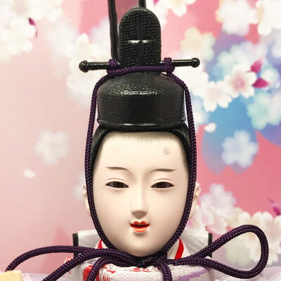 雛人形ひな人形数量限定!コンパクトピンク親王ケース飾り2016