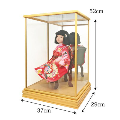 【送料無料】雛人形ひな人形金襴特上六角ケース飾り