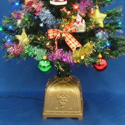 クリスマスツリー90cmチェンジングパールファイバーツリーセット(チェンジングスターLED付き)