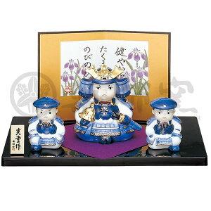 May Doll Yakushi Kizo Sennishiki Hatsujin General Adornment / Dango Festival's Festival First Festival Celebration Gift Gift May Doll Helmet Seto ware