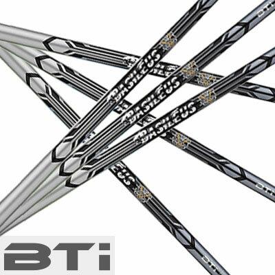 BASILEUS BTi iron shaftバシレウス ビーティーアイ アイアン シャフト6本セット(#5〜#9、PW)【リシャフト・工賃込・往復送料無料】