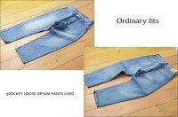 ordinaryfits[オーディナリーフィッツ]5POCKETLOOSEDENIMPANTSUSED[OM-P056]5ポケットルーズデニムパンツMEN'S/LADY'S
