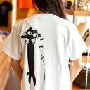 【 6月 スーパーセール 限定 50%OFF 半額 】猫 ねこ おもしろ かわいい Tシャツ LOVE CAT ( ホワイト )   ネコ 猫柄 猫雑貨   メンズ レディース 半袖   おもしろTシャツ おしゃれ 親子 ペアルック プレゼント   大きいサイズ 【メール便】 SCOPY / スコーピー・・・