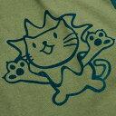 【 クーポンで 最大1000円OFF 〜1/28 】【 送料無料 】 猫 ねこ おもしろ かわいい Tシャツ PYGMY LION ( オリーブ ) | ネコ 猫柄 猫雑貨 | メンズ レディース 半袖 服 | おしゃれ ペアルック プレゼント | 大きいサイズ 【メール便】 SCOPY / スコーピー 2