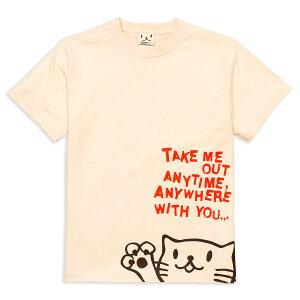 ネコ好き のための 猫柄 Tシャツ Griper ( ナチュラル ) | ねこ 猫 猫雑貨 | メンズ レディース | SCOPY / スコーピー 10P07Feb16
