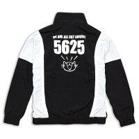 【12/14発送】【送料無料】猫ねこトラックジャケット【限定】5625(ブラック×ホワイト)|ネコ猫猫雑貨|メンズレディースアウター|かわいいおしゃれ大人ペアルックお揃いプレゼント|大きいサイズ|SCOPY/スコーピー