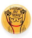 猫 ねこ 缶バッチ JUMP | ネコ 猫柄 猫雑貨 猫グッズ | かわいい おしゃれ | SCOPY / スコーピー