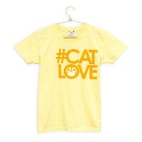 SCOPY(スコーピー)Tシャツ#CATLOVE(チャトラ)