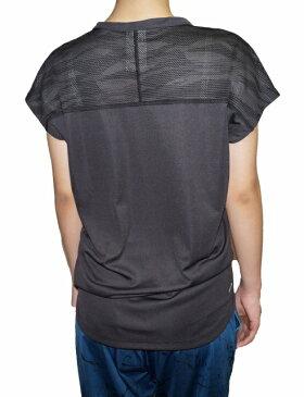 【中古】アディダス adidas 半袖 Tシャツ デオドラント 吸汗 透湿 速乾 ランニング ジム フィットネス 黒 レディース ウィメンズ
