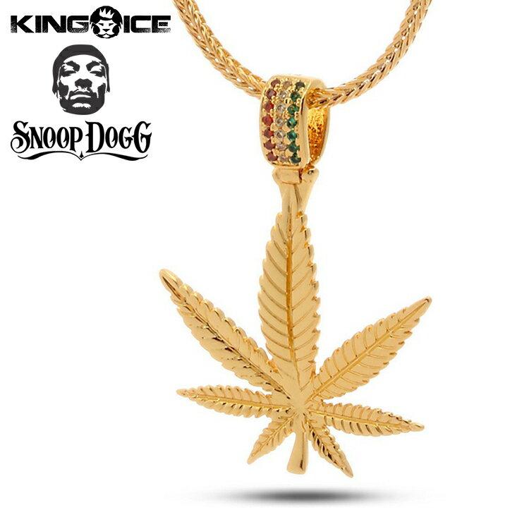 メンズジュエリー・アクセサリー, ネックレス・ペンダント King IceDesigned by Snoop Dogg The Weed Leaf Necklace