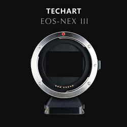 TECHART(テックアート)キヤノンEOS/EFマウントレンズ-ソニーNEX/α.Eマウント電子アダプターEOS-NEXlll