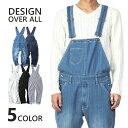 オーバーオール メンズ デニム ジーンズ インディゴ ブルー レディース 青 紺 ネイビー ブラック ヒッコリー ホワイト 白 黒 ストライプ 縦縞 あす楽対応・・・