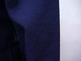 BRS21・6泊7日レンタル学生服女子高生制服白2本線スクール学生冬女子セーラー服マイクロミニスカート長袖高校中学上下紺160【学生服制服セーラー服コスプレ】【中古】