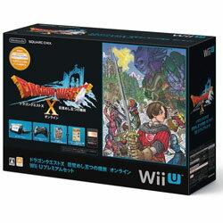 【新品】WiiU本体同梱版ドラゴンクエストX目覚めし五つの種族オンラインWiiUプレミアムセット
