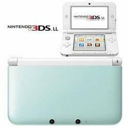 【予約販売】3DSLL本体ニンテンドー3DSLL本体ミント×ホワイト(SPR-S-MAAA)