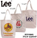 【送料無料】Lee リー エコバッグ【トートバッグ】お買い物エコバッグ...