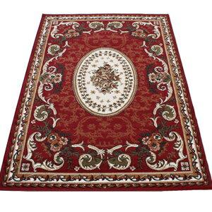 カーペット マット ラグマット 6畳 六畳 6帖 六帖 ラグカーペット 春夏秋冬 オールシーズン 安い ベルギー製 輸入 ラグ カーペット レッド 約240×330cm シラーズ1123 (Y) 絨毯 激安 じゅうたん ジュータン 赤 red roze mat rug