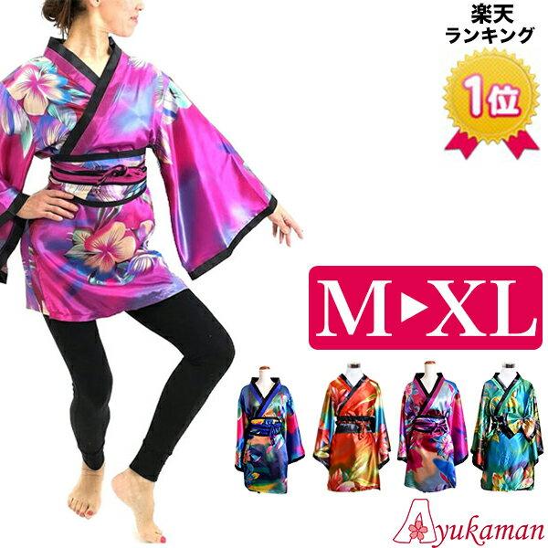 93db04a5b4f18 着物ドレス 和風 コスチューム 衣装 0031 M L 着物風ミニ (花) cwa04 ...