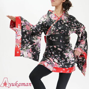 Oiran Costume Cosplay Yosakoi Costume Japanese Style Dress Cava Cava Dress Kimono dress costume Kimono dress cwa1013 Cava kimono mini 1013 Satin Waka Yosakoi Japanese pattern kimono Yukata event dress DRESS costume dancewear Japanese pattern Japanese style costume