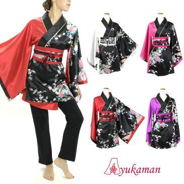 d798f758ad495 着物ドレス レディース 大きいサイズ 送料無料 あす楽 よさこい ダンス衣装 孔雀柄