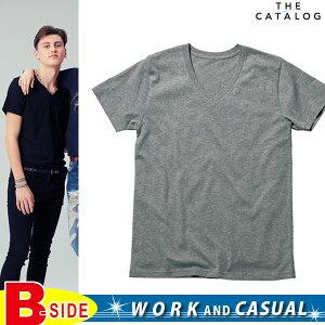 【MAXIMUM マキシマム】オーガニックコットンVネックTシャツ ms0302 (BONMA…