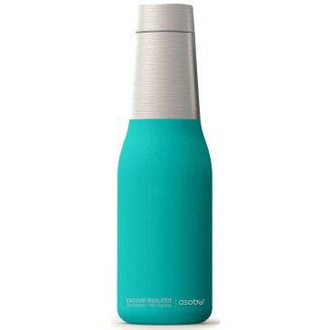 水筒 asobu ファッションボトル OASIS 600ml ステンレスボトル 直飲み 保温保冷 真空断熱 おしゃれ アソブ アソブボトル オアシス ターコイズ