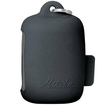 超吸収性タオル Matador ナノドライタオル スポーツタオル 軽量コンパクト 収納ケース付き 抜群の機能性! マタドール Nano Dry Towel SMALL チャコールグレー Sサイズ