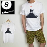 8BALLバンクシーTシャツプリント風船少女