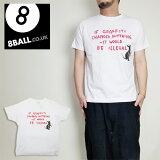 8BALLバンクシーTシャツプリントネズミグラフィティ2021ss
