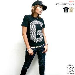 ギターのGTシャツ-BPGTバンビプラネットグラフィックTシャツ-sp037tee-G-ロックギターバンドTシャツライブフェス楽器デザインオリジナル半袖メンズレディースユニセックスファッション大きいサイズ【RCP】