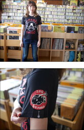 JIPANGUSAIKOTシャツ(ブラック)-HARIKEN-har012tee-bk-G-メンズレディースユニセックス半袖富士山キャラジパング日本パンクロックTシャツアメカジカジュアルかっこいいプリント黒綿100%大きいサイズ【RCP】