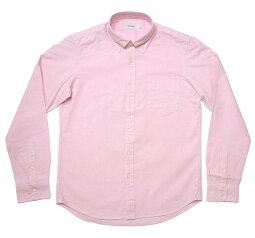 オックスフォードBDシャツ(ピンク)-VINTAGEELヴィンテージイーエル-sh75201s-pi15-G-長袖シャツOXシャツボタンダウンシャツYシャツトップスカジュアルきれいめかっこいい定番コーデメンズファッション桃色【RCP】